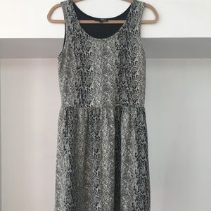 Brooklyn Industries Snake Print Dress - L/G